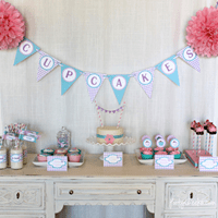 Cupcake Party Printables