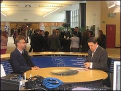 TLU depy chairman Henk van de Graaf interviewed on European Parliament TV about his formal genocide charge against ANC regime