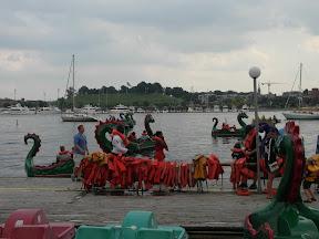 Dragonboats.