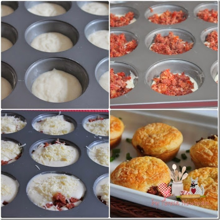 Muffins de arroz