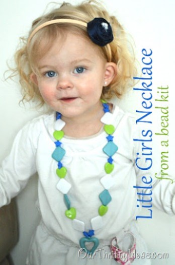 Little Girl Handmade Necklace