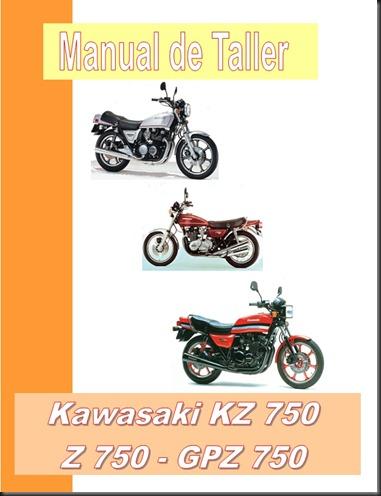 manual taller kz750