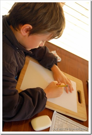 Making Friezes ~ Our Aussie Homeschool