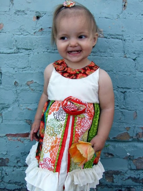 The Sunshine dress {tutorial too!}