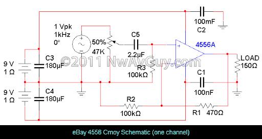 Headphone Amplifier Schematic Amplifier Circuit Design