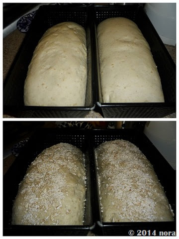 Pan blanco con Avena