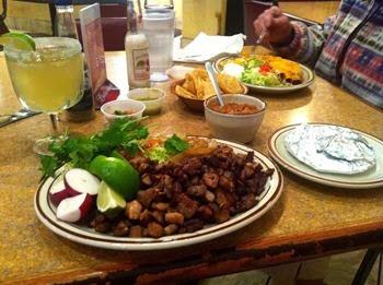 original Mexican tacos at Alvardo's