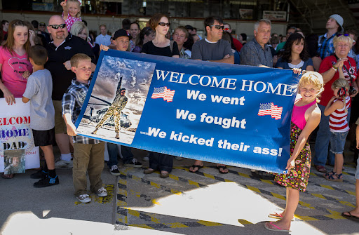 Welcome Home. We went, we fought, we kicked their ass