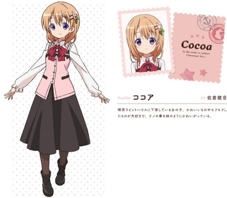 Is the order a rabbit - anime - cocoa
