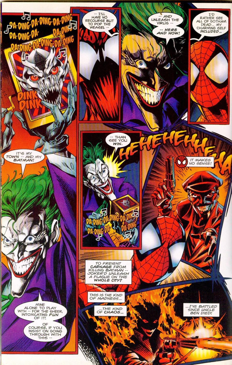 Carnage Vs Joker : carnage, joker, Carnage, Joker, Symbiote, Whowouldwin
