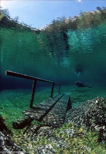Green Lake parque submerso austria desbaratinando (7)