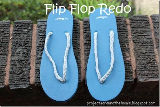 Flip Flop Redo, Refashion, Shoe