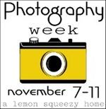 Photography Week Button, Mustard 2