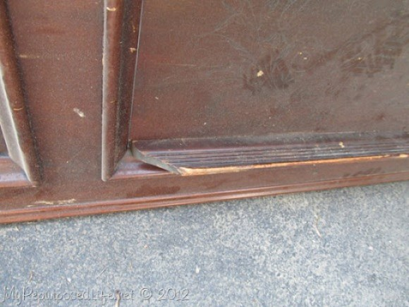 wooden ledge