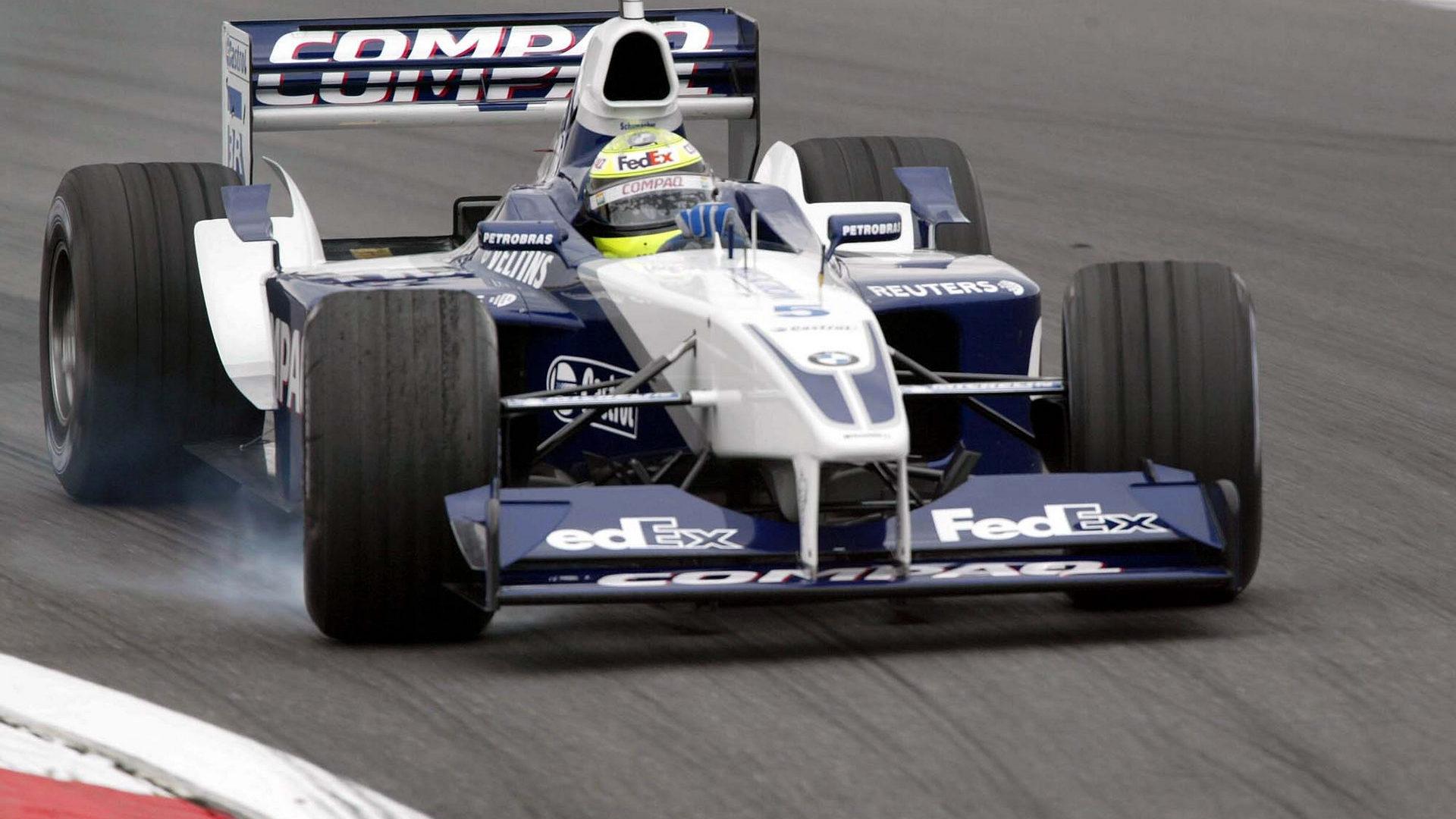 Ralf Schumacher Williams FW24 BMW