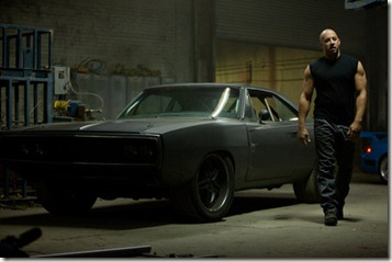 """VIN DIESEL as Dom Toretto in a reunion of returning all-stars from every chapter of the explosive franchise built on speed--""""Fast Five""""."""
