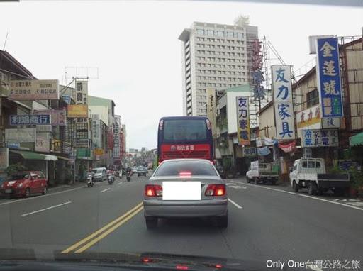 Only One-臺灣公路之旅: 臺南市23號道路系列:昔日縱貫道北路的起點-公園路