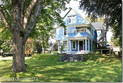 Our B&B, the Atlantic Sojourn, in Lunenburg, Nova Scotia (we definitely recommend this B&B)
