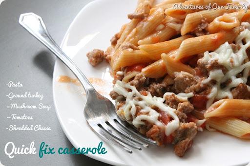 easy casserole quick recipe