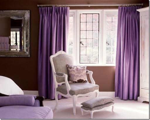 Per la tua casa shabby o provenzale le pareti color tortora e lilla sono l'ideale. Uso Del Colore Viola