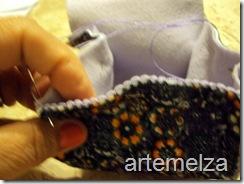 artemelza - bolsa de feltro duplo-8