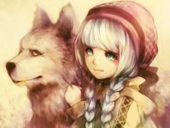 anime cute wolf corner wolves kawaii pretty nayu policy reading