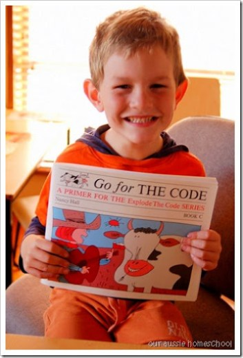 Our Aussie Homeschool ~ ETC Go for the Code