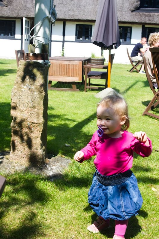 Lille Agnes på Strandgården på Læsøa