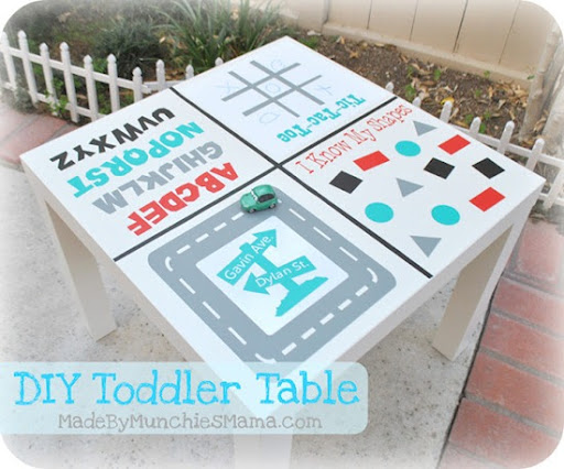 diy toddler table