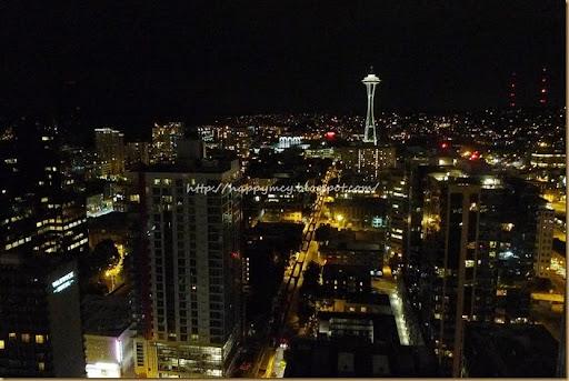 灣區手繪札記: 西雅圖夜未眠的第一晚