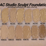 Mac Studio Sculpt Foundation Review Swatches Of Shades