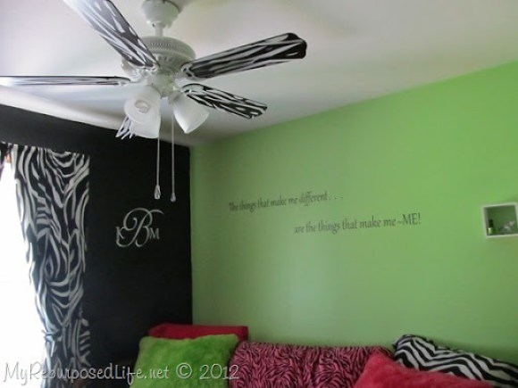 Teen Room Makeover (Zebra Print) (22)