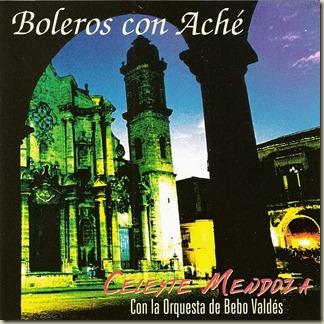 Celeste Mendoza Boleros Con Ache - Frente