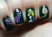 nailartinc: ALICE IN WONDERLAND NAILART