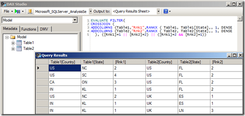 UNION Operation in DAX Queries – Some Random Thoughts