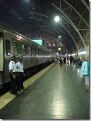 Overnight train to Vientiane
