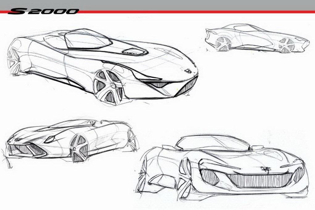 UN: Design Student Envisions Neuer Honda S2000 Roadster