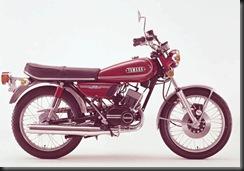 Yamaha RD 125 73