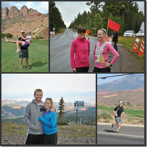 red rock relay collage