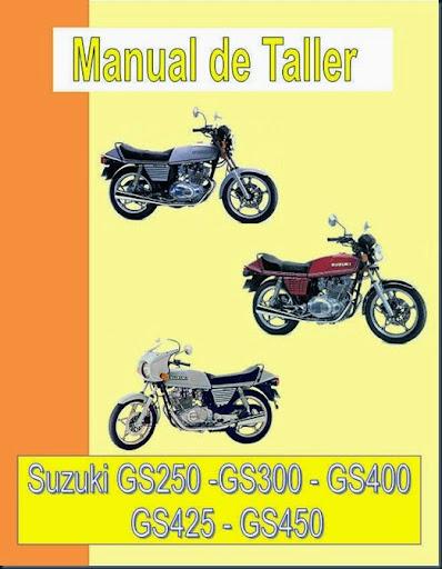 manual taller suzuki gs 250 400 450