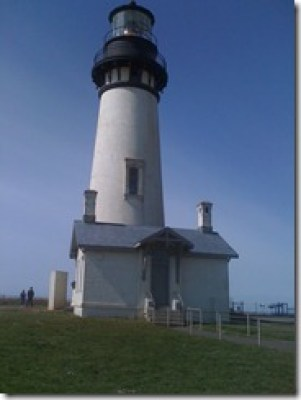 Yaquina Head Lighthouse in Newport, OR