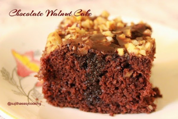 Chocolate Walnut Cake2