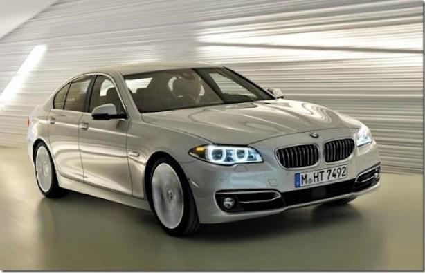 BMW mostra o Série 5 2014 (2)