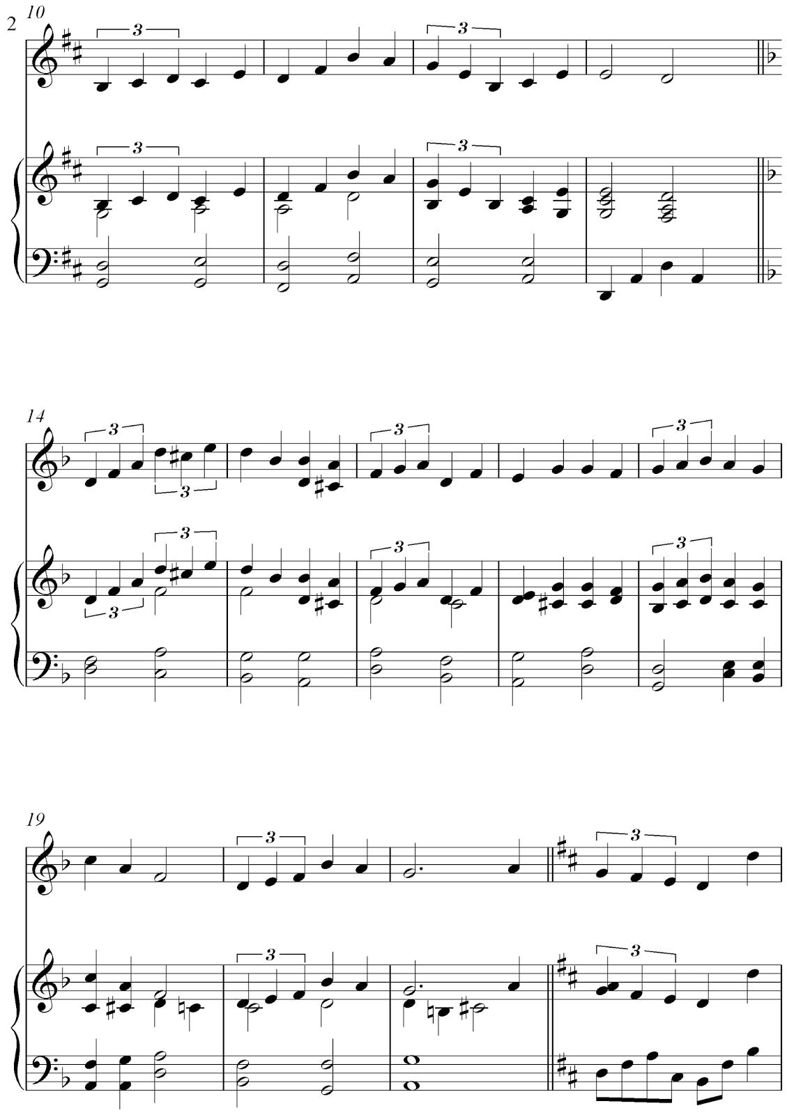 Christmas Canon Sheet Music Free Flute