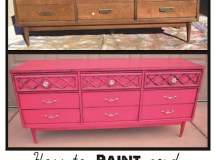Painting Furniture is SUPER easy and can save you lots and ...