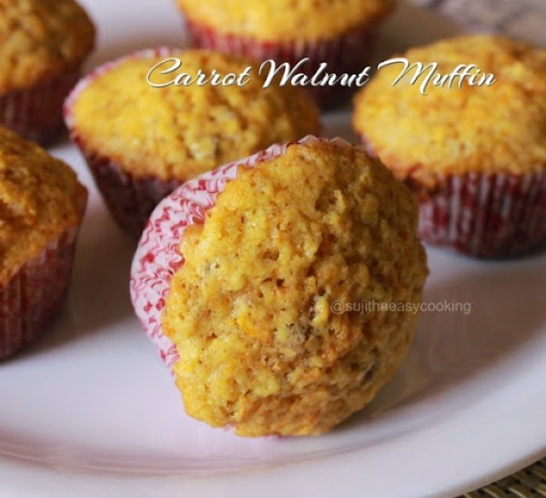 Carrot Walnut Muffin1