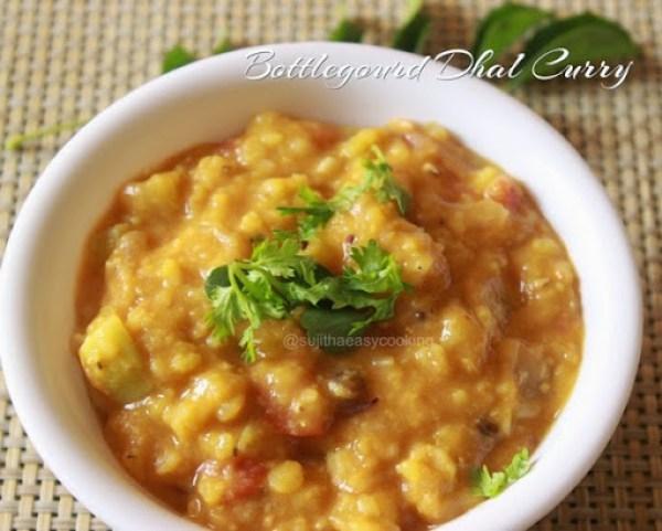 Bottlegourd Dhal Curry2