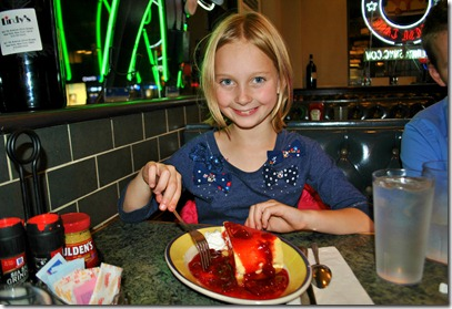 Halle's World Famous birthday cheesecake