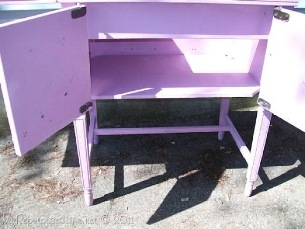 Vintage Sewing Cabinet (7)