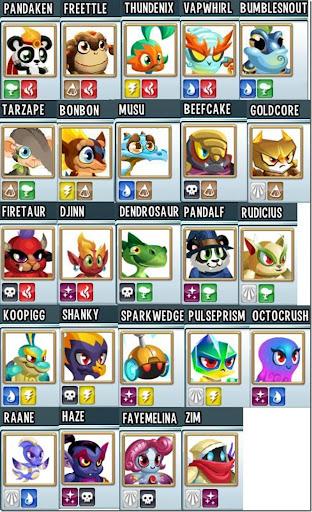 Monster Legends Breeding Chart - Ofertasvuelo